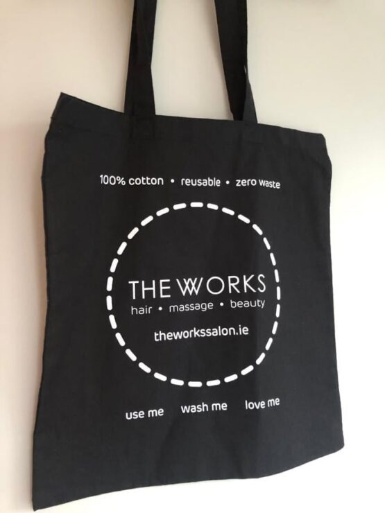 the works cotton bag