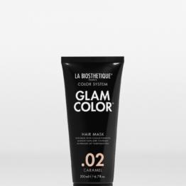 La Biosthetique Glam Color Hair Mask .02 Caramel - 200ml