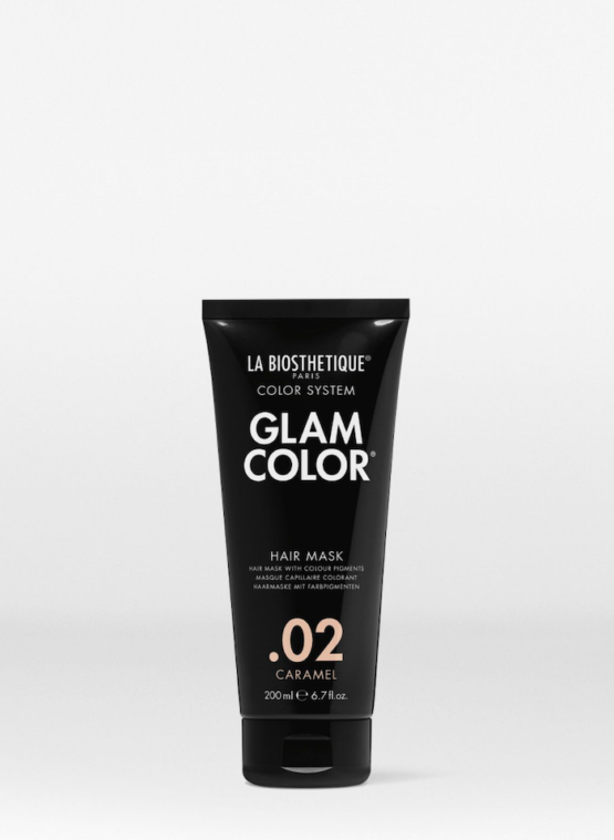 La Biosthetique Glam Color Hair Mask .02 Caramel - 200ml