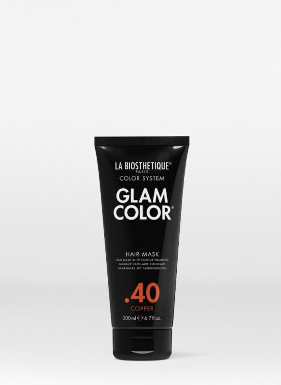 La Biosthetique Glam Color Hair Mask .40 Copper - 200ml