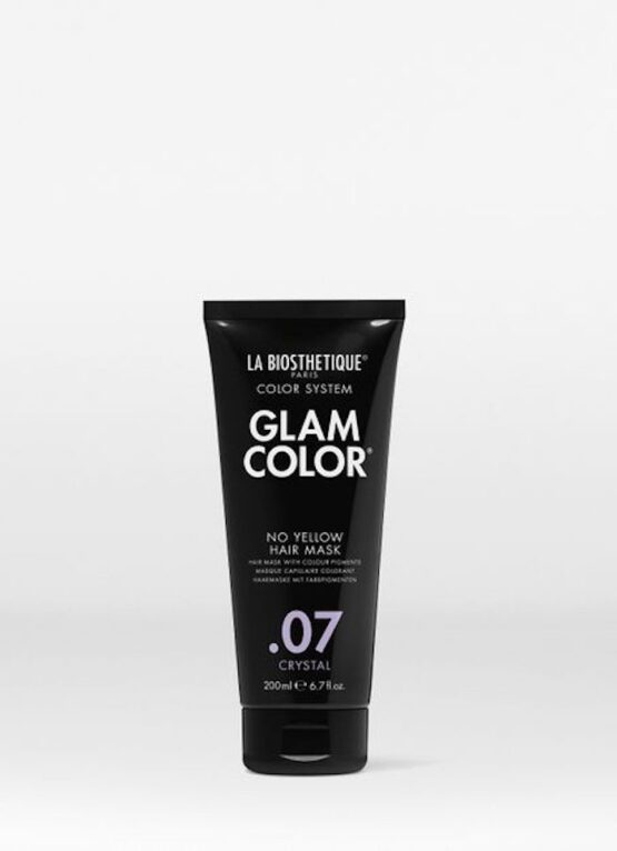 La Biosthetique Glam Color No Yellow Hair Mask .07 Crystal - 200ml